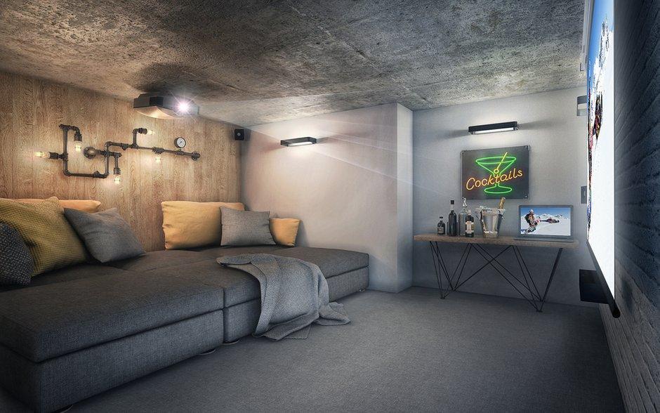 Фотография: Гостиная в стиле Лофт, Квартира, Проект недели, Москва, ToTaste Studio, Монолитный дом, 4 и больше, 60-90 метров, ЖК «Соколиный форт» – фото на INMYROOM
