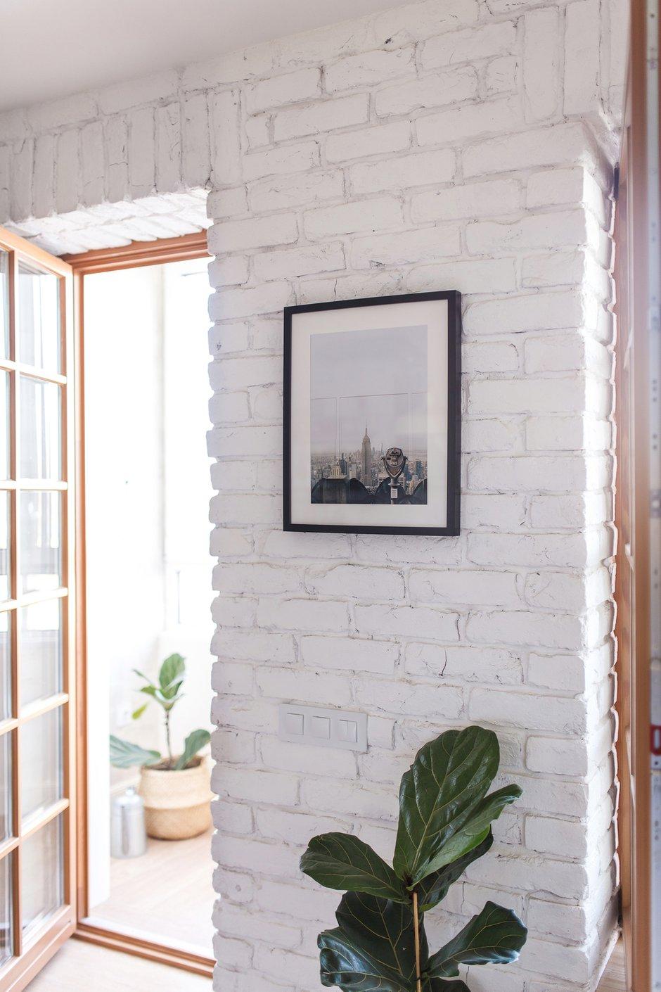 Фотография: Прихожая в стиле Скандинавский, Квартира, Белый, Проект недели, Евгения Лыкасова – фото на INMYROOM