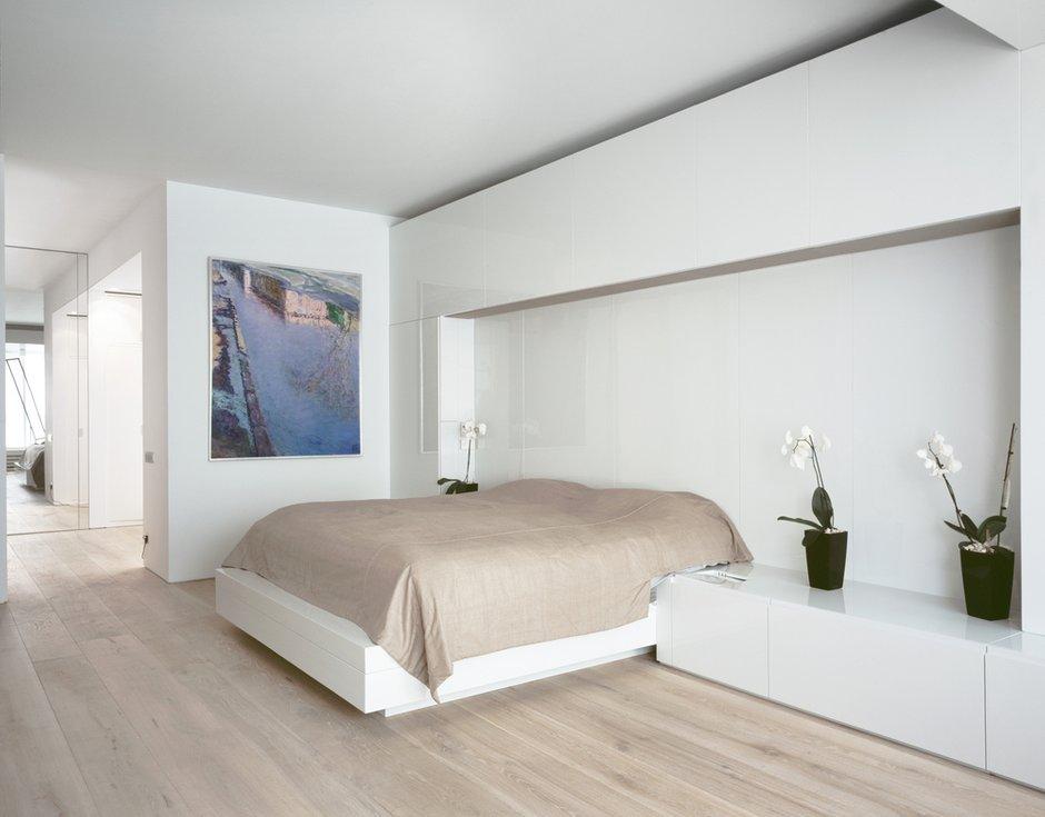 Фотография: Спальня в стиле Скандинавский, Современный, Квартира, Дома и квартиры, Минимализм – фото на INMYROOM