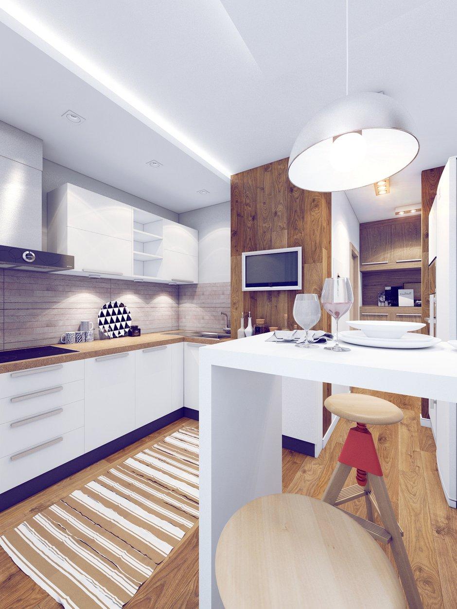 Фотография: Кухня и столовая в стиле Лофт, Современный, Квартира, Дома и квартиры, Москва – фото на INMYROOM