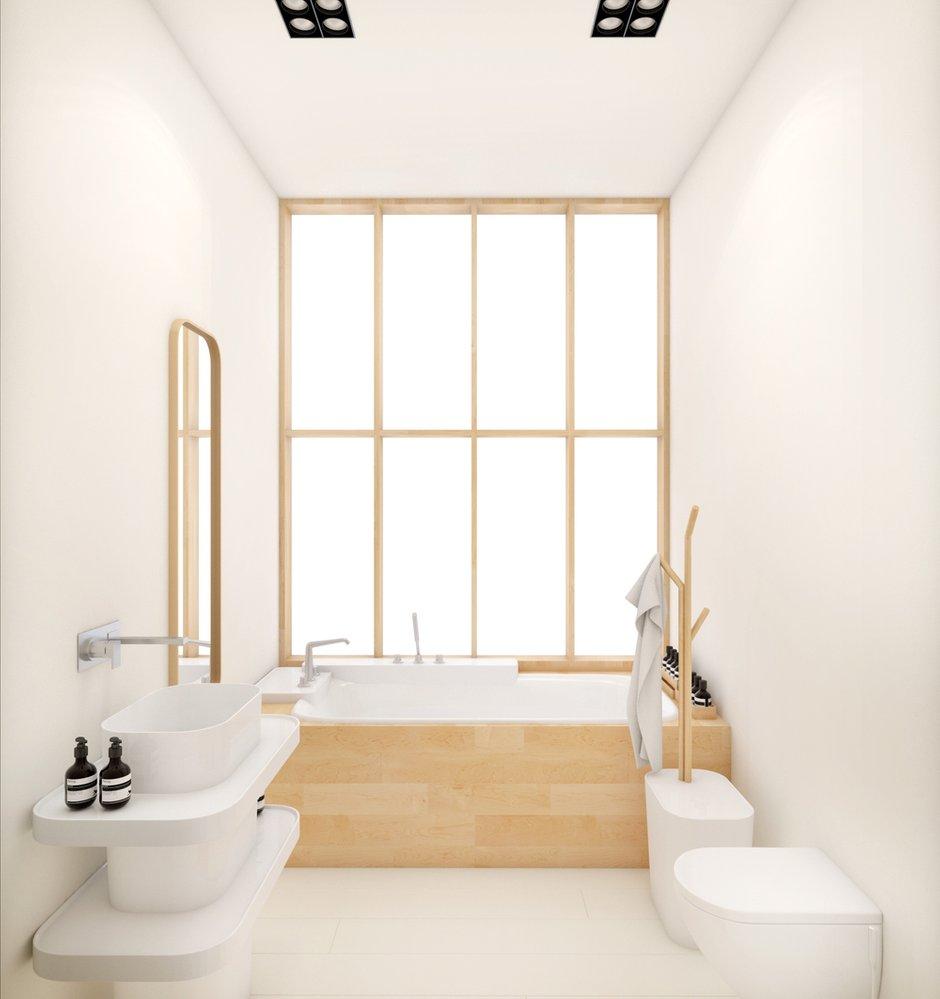 Фотография: Ванная в стиле Скандинавский, Современный, Восточный, Квартира, Дома и квартиры, Минимализм, Проект недели – фото на INMYROOM