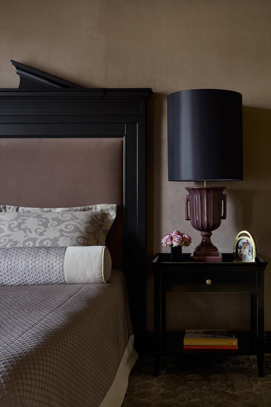 Фотография: Спальня в стиле Классический, Современный, Квартира, Проект недели, Москва, 3 комнаты, 60-90 метров, Варвара Шабельникова – фото на INMYROOM