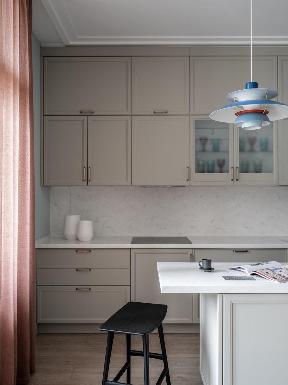 Фотография: Кухня и столовая в стиле Современный, Квартира, Проект недели, Санкт-Петербург, 3 комнаты, Более 90 метров, Светлана Оленбург – фото на INMYROOM