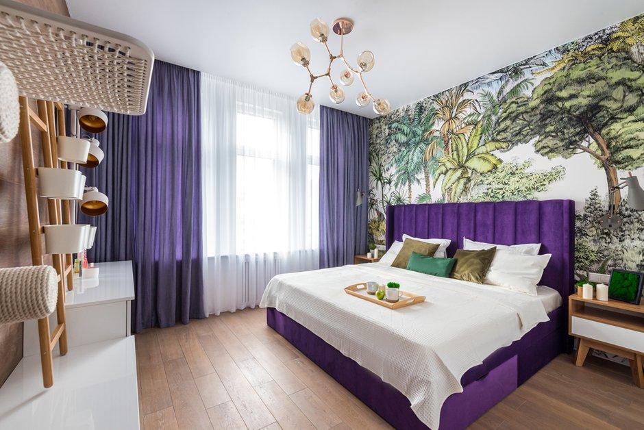 Фотография: Спальня в стиле Современный, Квартира, Проект недели, Санкт-Петербург, 3 комнаты, Более 90 метров, Lavhome, Тамара Литус – фото на INMYROOM