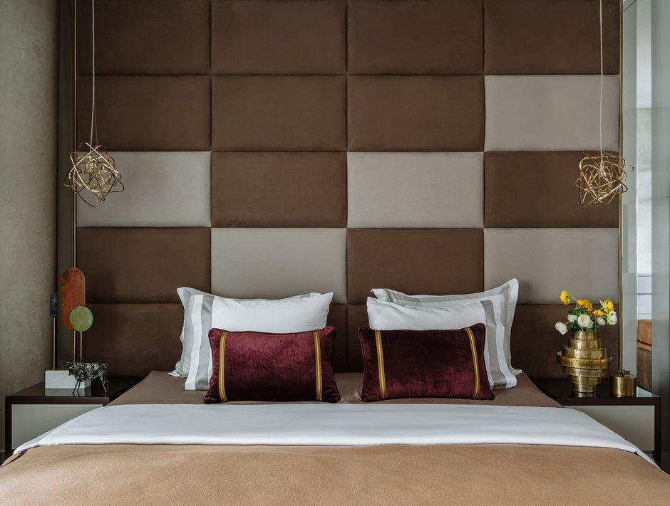 Фотография: Спальня в стиле Современный, Квартира, Проект недели, Москва, 4 и больше, Более 90 метров – фото на INMYROOM