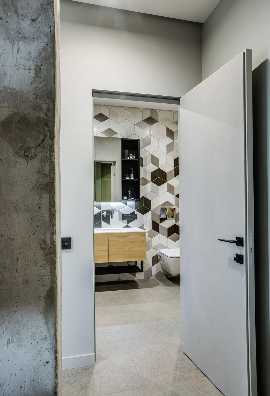 Фотография: Ванная в стиле Современный, Квартира, Проект недели, Киев, Boho Studio, 3 комнаты, 60-90 метров – фото на INMYROOM