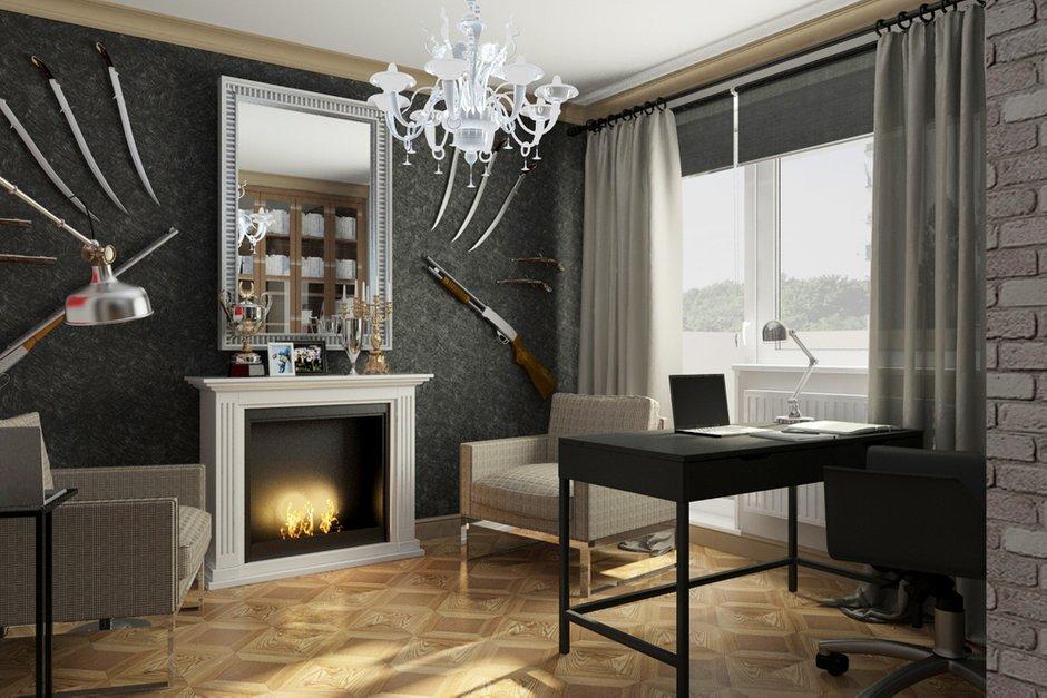 Фотография: Гостиная в стиле Лофт, Эклектика, Квартира, Дома и квартиры, IKEA, Проект недели – фото на INMYROOM