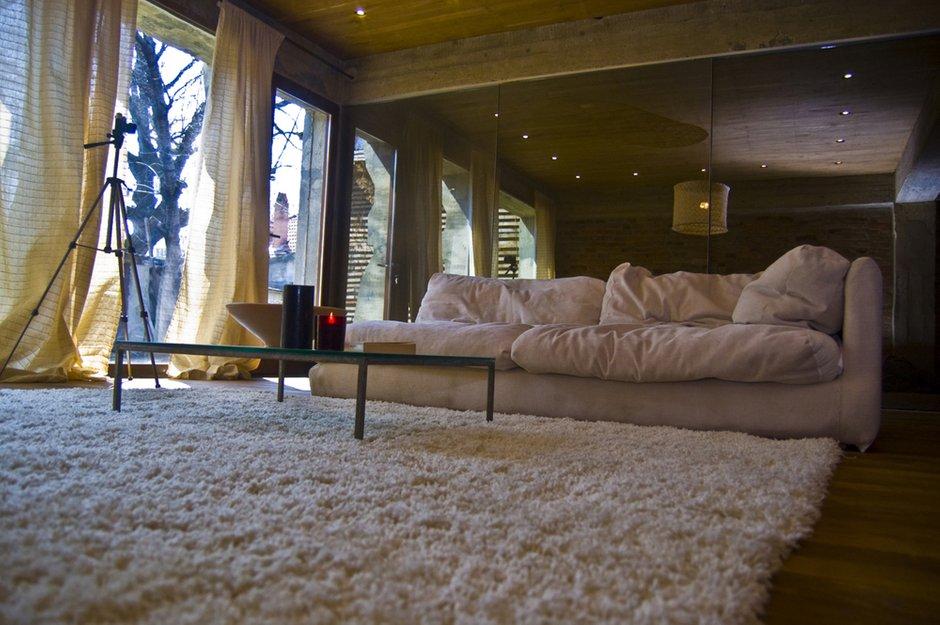 Фотография: Гостиная в стиле Лофт, Дом, Дома и квартиры, Минимализм, Проект недели – фото на InMyRoom.ru