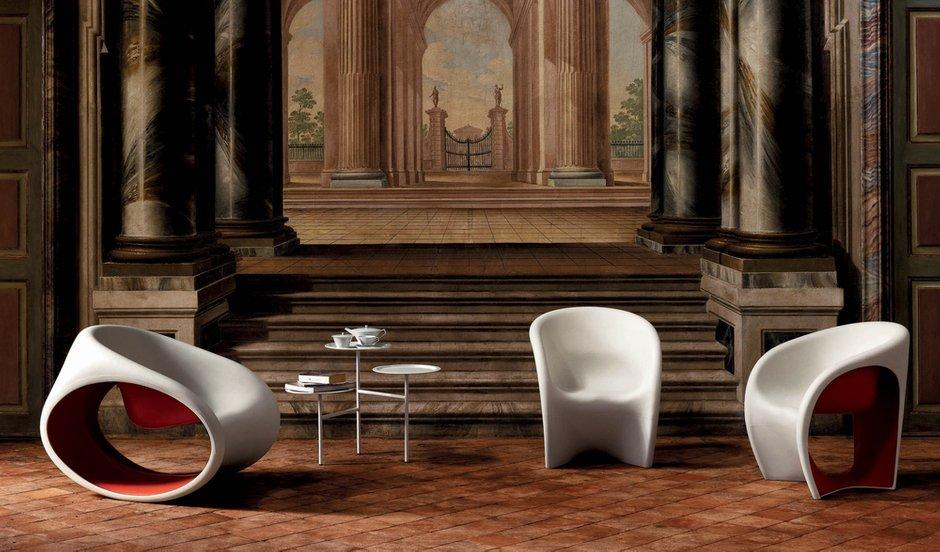 Фотография: Гостиная в стиле Современный, Эклектика, Декор интерьера, Квартира, Дом, Мебель и свет, Кресло-качалка – фото на INMYROOM