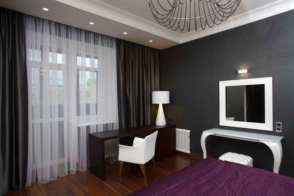 Фотография: Спальня в стиле Эклектика, Современный, Квартира, Дома и квартиры – фото на INMYROOM