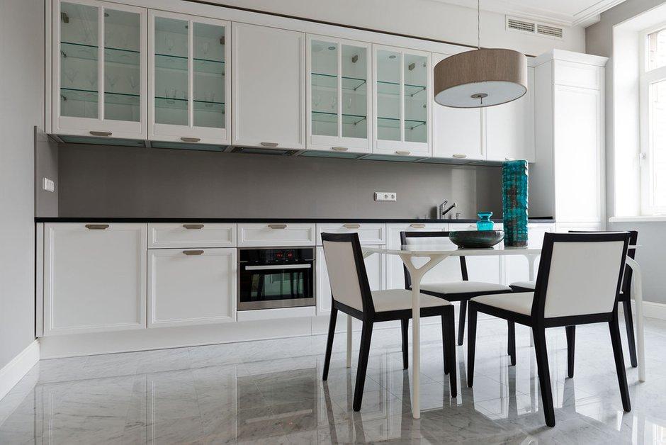 Фотография: Кухня и столовая в стиле Современный, Минимализм, Квартира, Декор, Проект недели – фото на INMYROOM