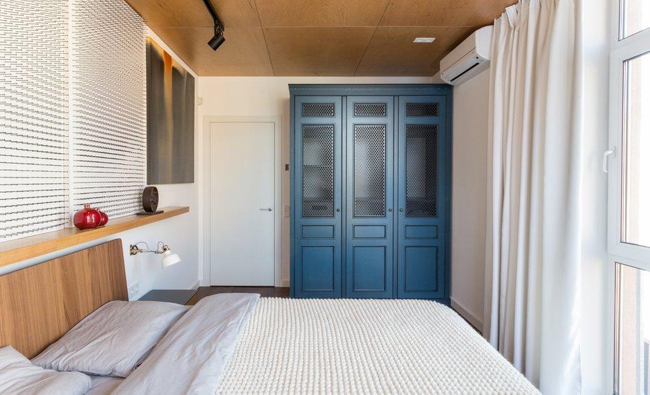 Фотография: Спальня в стиле Современный, Лофт, Квартира, Проект недели, Киев, новостройка, Монолитный дом, 2 комнаты, 60-90 метров – фото на INMYROOM