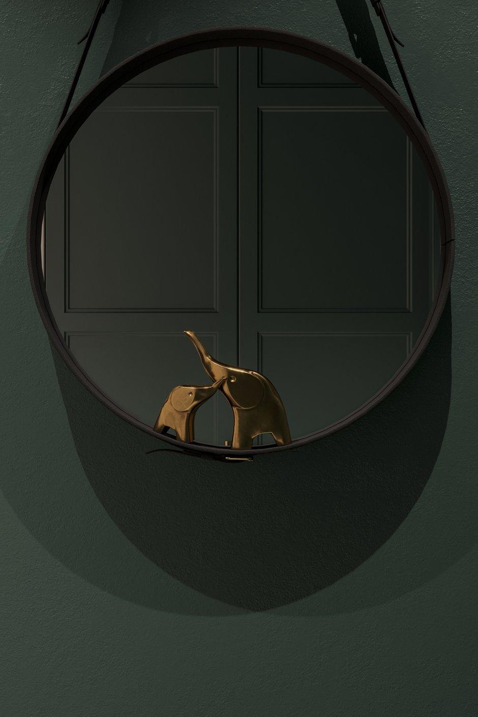 Фотография: Прихожая в стиле Современный, Эклектика, Квартира, Белый, Проект недели, Синий, Коричневый, 1 комната, 40-60 метров, Tabooret – фото на INMYROOM