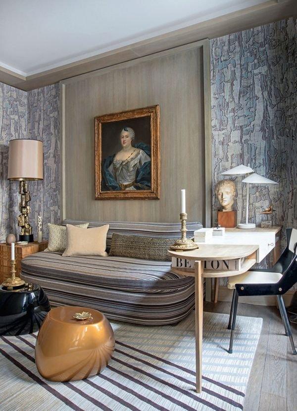 Фотография: Гостиная в стиле Эклектика, Классический, Декор интерьера, Декор дома, Картины – фото на INMYROOM