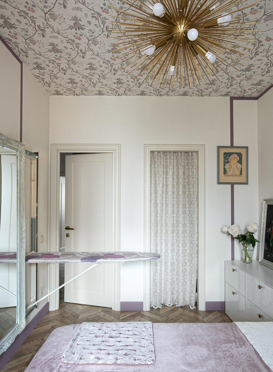 Фотография: Спальня в стиле Эклектика, Квартира, Проект недели, Санкт-Петербург, 3 комнаты, 60-90 метров, Ольга Захарова – фото на INMYROOM