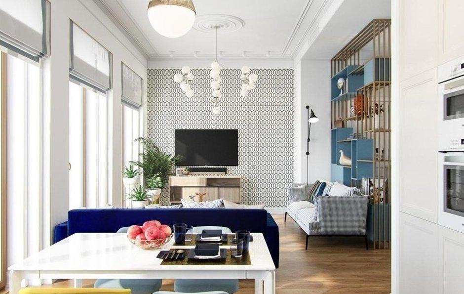 Фотография: Гостиная в стиле Эклектика, Квартира, Советы, декор стен, малогабаритка, Loggia – фото на INMYROOM