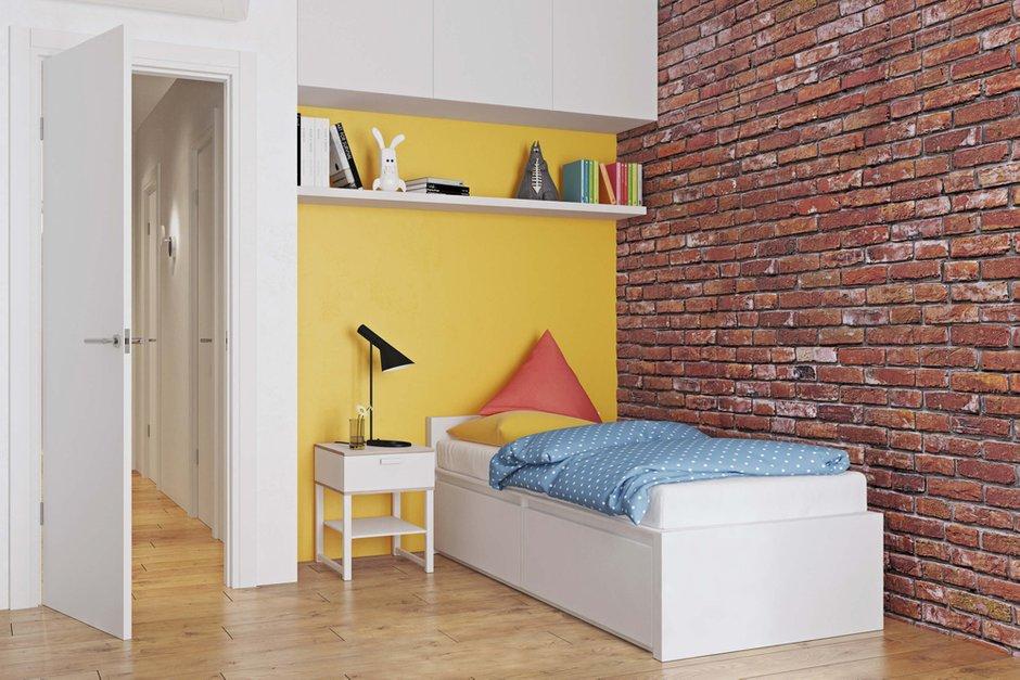 Фотография: Детская в стиле Современный, Квартира, Проект недели, Geometrium, Монолитный дом, 3 комнаты, 60-90 метров, ЖК «Арт Casa Luna» – фото на INMYROOM