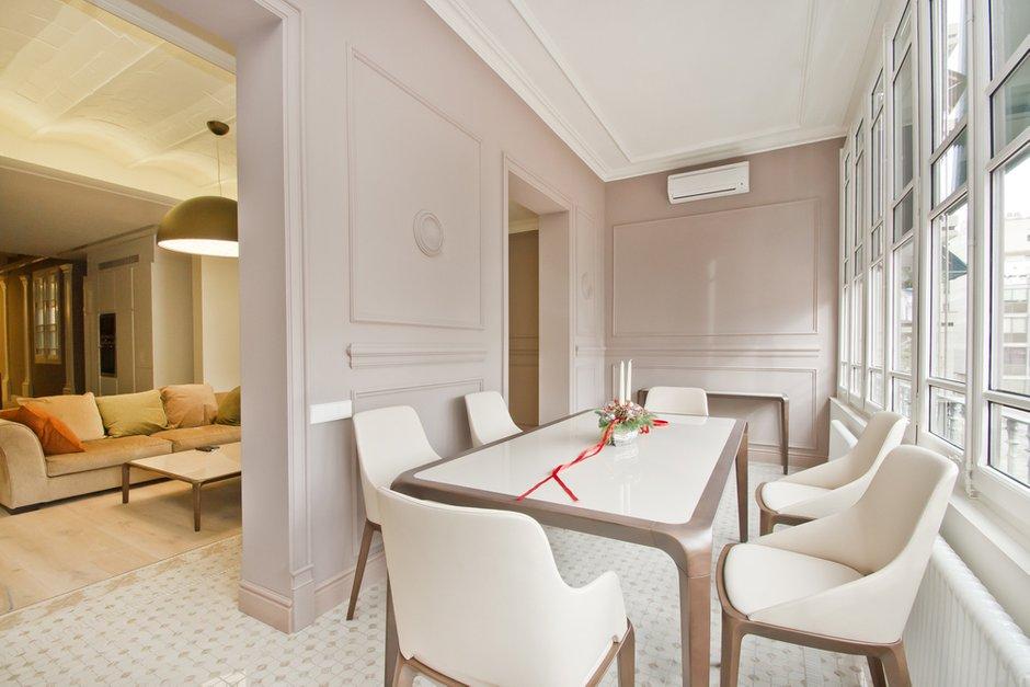 Фотография: Кухня и столовая в стиле Скандинавский, Квартира, Дома и квартиры, Перепланировка, Барселона, Модерн – фото на INMYROOM