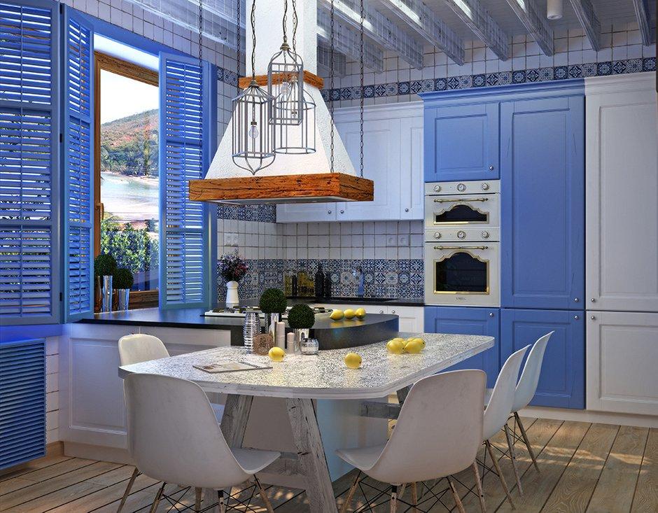 Фотография: Кухня и столовая в стиле Восточный, Декор интерьера, Дом, Декор, Цвет в интерьере, Дома и квартиры, Средиземноморский, Греция – фото на INMYROOM