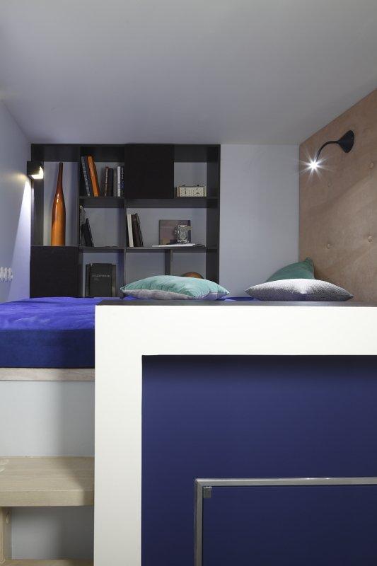 Фотография: Спальня в стиле Современный, Малогабаритная квартира, Квартира, Студия, Дома и квартиры, Проект недели – фото на INMYROOM