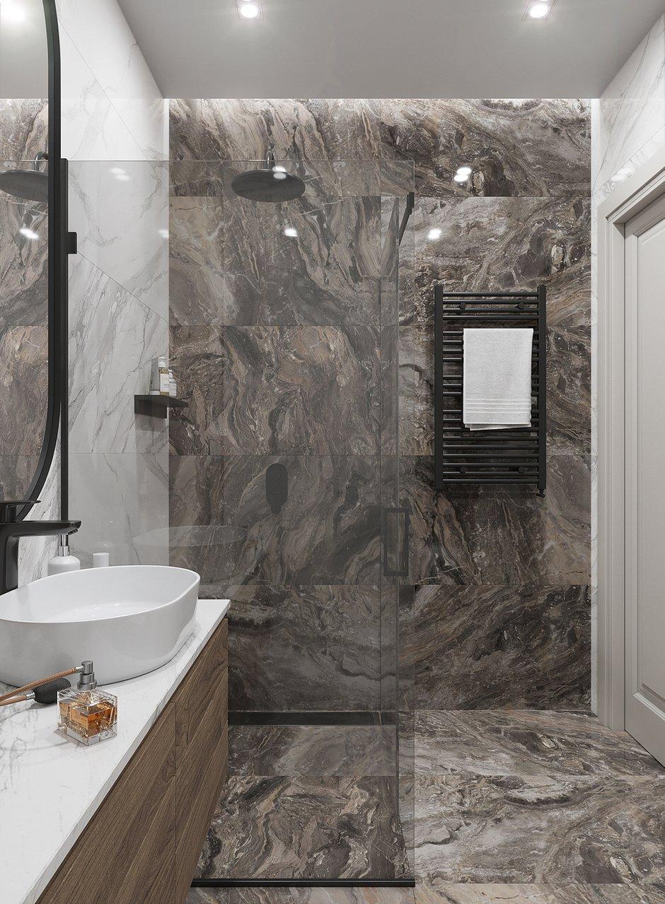 Фотография: Ванная в стиле Современный, Квартира, Проект недели, Москва, 2 комнаты, 60-90 метров, Тор-Ард – фото на INMYROOM