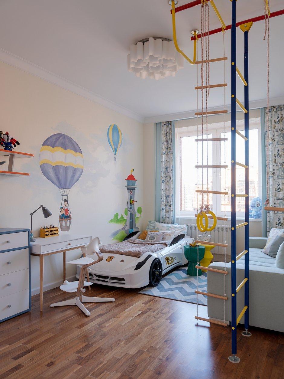 Фотография: Детская в стиле Современный, Квартира, Проект недели, 3 комнаты, Более 90 метров, Екатерина Беликова – фото на INMYROOM