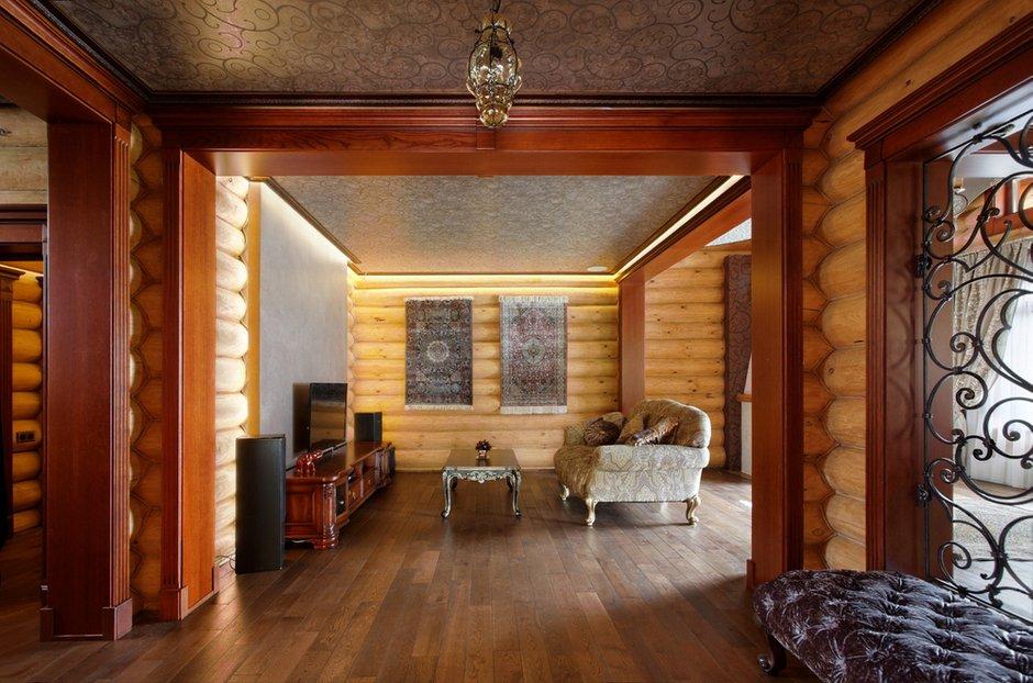 Фотография: Гостиная в стиле Прованс и Кантри, Дом, Дома и квартиры, Проект недели, Дача – фото на INMYROOM