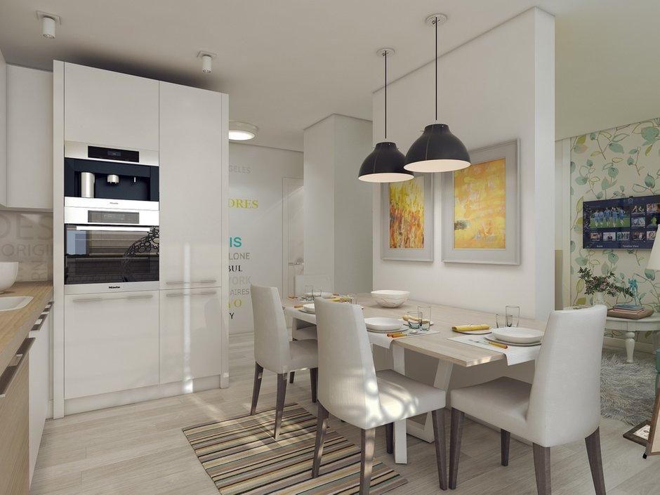 Фотография: Кухня и столовая в стиле Современный, Квартира, Дома и квартиры, IKEA, Проект недели – фото на INMYROOM