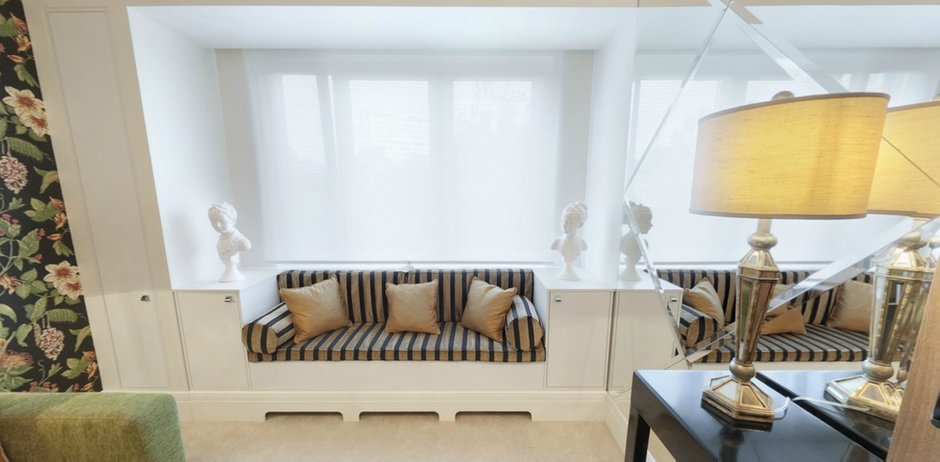 Фотография: Гостиная в стиле Классический, Современный, Интерьер комнат, Проект недели, Переделка – фото на InMyRoom.ru