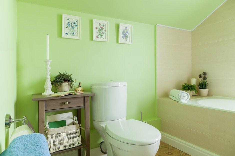 Фотография: Ванная в стиле Прованс и Кантри, Классический, Эклектика, Дом, Проект недели – фото на InMyRoom.ru