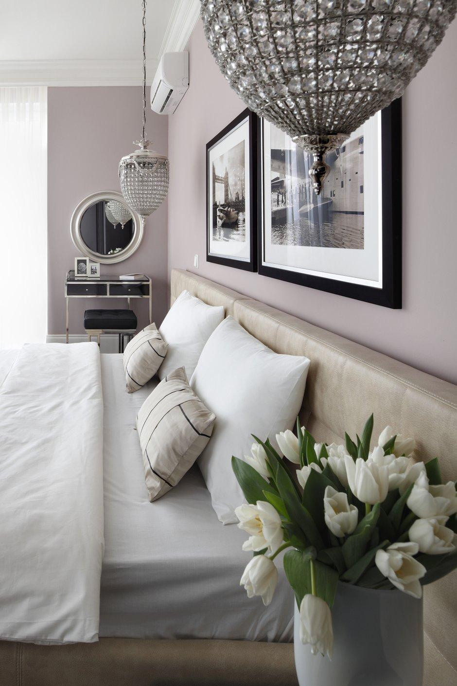 Фотография: Спальня в стиле Современный, Квартира, Текстиль, Дома и квартиры – фото на INMYROOM
