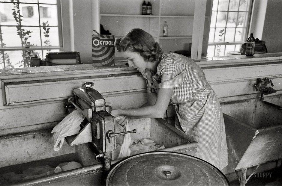 1930-е. Вобщественной прачечной