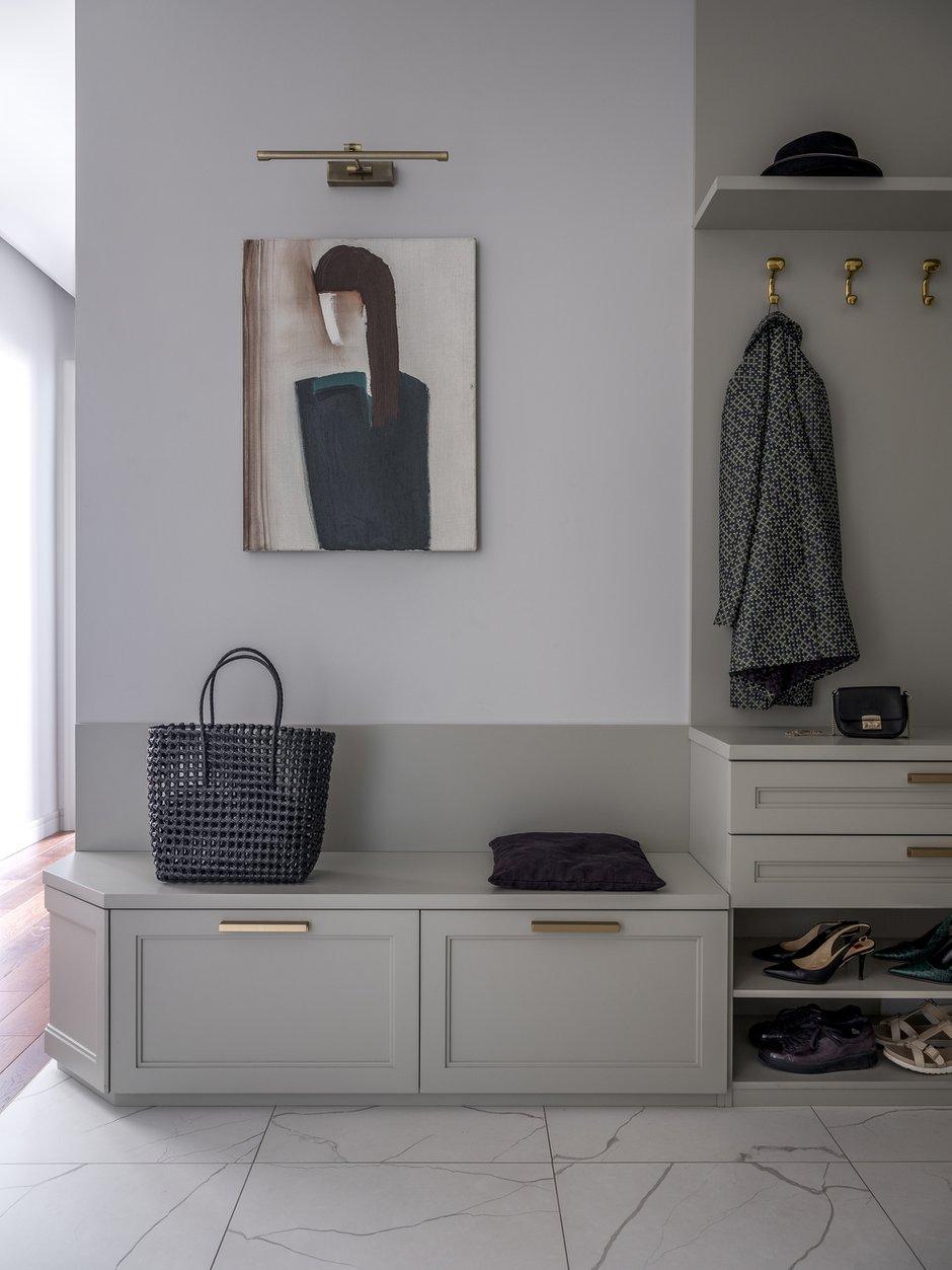 Фотография: Прихожая в стиле Современный, Квартира, Проект недели, Москва, 4 и больше, Более 90 метров, Anddesign – фото на INMYROOM