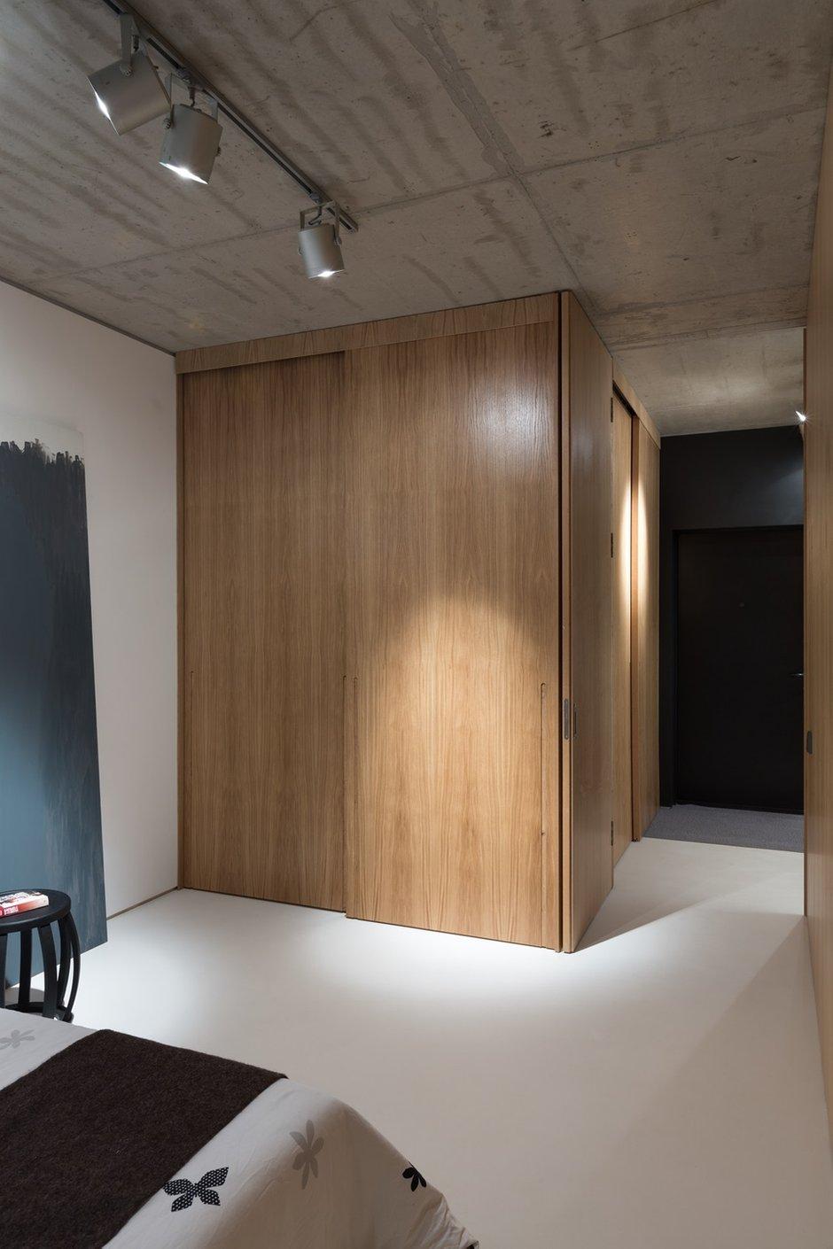 Фотография: Спальня в стиле Лофт, Малогабаритная квартира, Квартира, Украина, Дома и квартиры – фото на INMYROOM