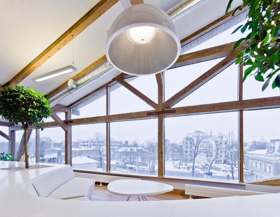 Фотография: Офис в стиле Современный, Декор интерьера, Офисное пространство, Цвет в интерьере, Дома и квартиры, Стены – фото на INMYROOM