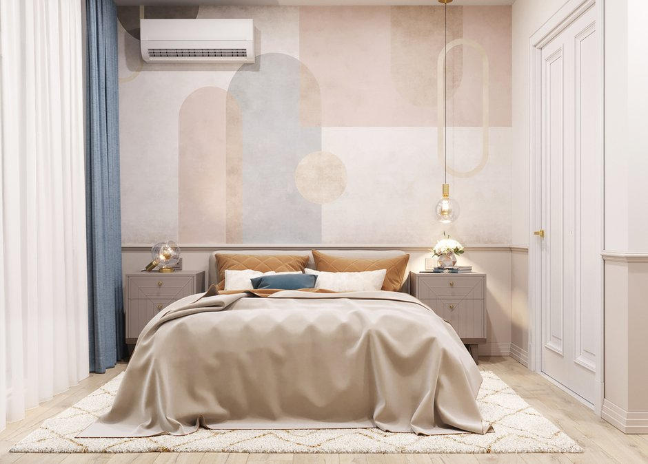 Фотография: Спальня в стиле Современный, Прихожая, Квартира, Проект недели, Москва, 2 комнаты, 40-60 метров – фото на INMYROOM