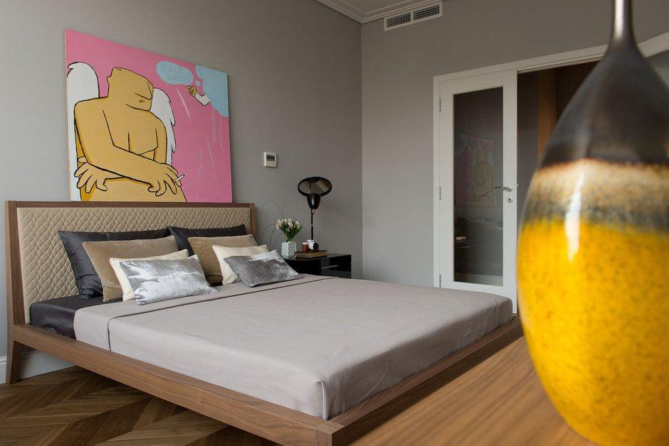 Фотография: Спальня в стиле Современный, Эклектика, Квартира, Декор, Проект недели – фото на INMYROOM