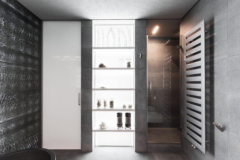 Фотография: Ванная в стиле Лофт, Квартира, Дома и квартиры, Минимализм – фото на INMYROOM