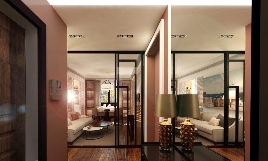 Фотография: Гостиная в стиле Восточный, Квартира, Дома и квартиры, Проект недели, Москва – фото на INMYROOM