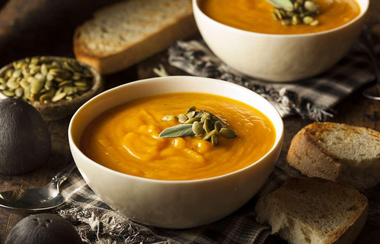 рецепт тыквенного супа пюре с фото красиво