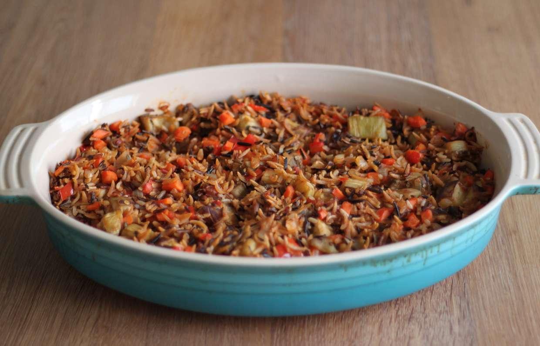дикий рис рецепты фото