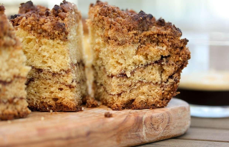 простой кофейный пирог рецепт с фото призом