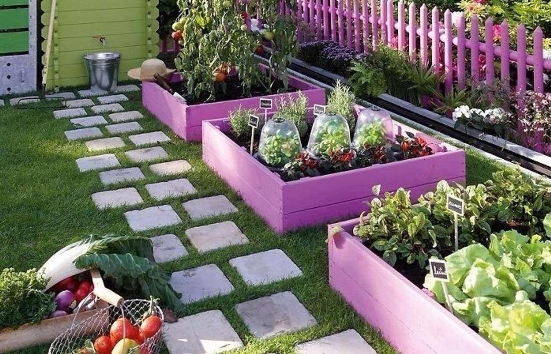 как украсить огород картинки