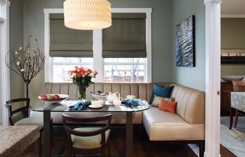 столовые с диваном дизайн фото шкаф распашными
