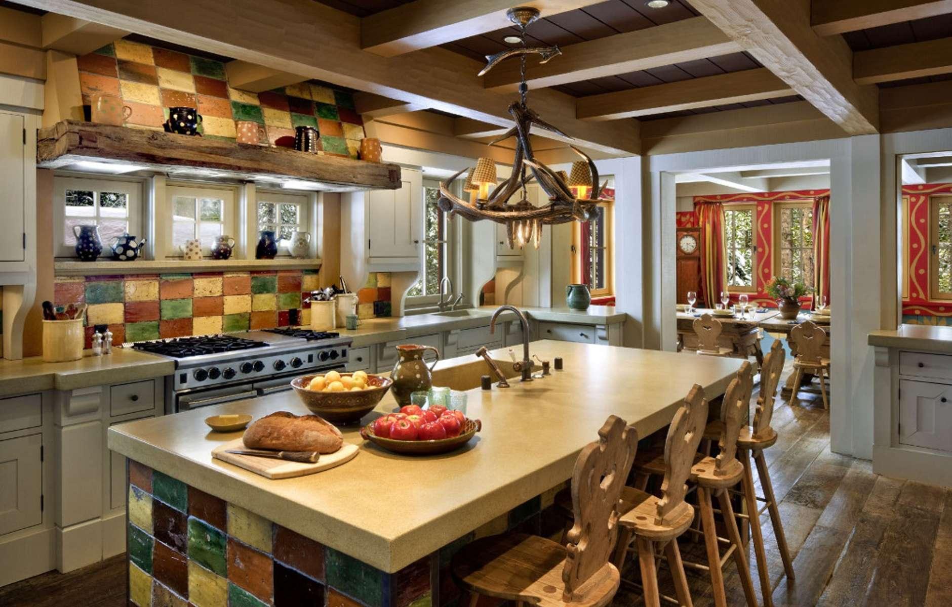 передач телеканала дизайн кухни в стиле шале фото так никому