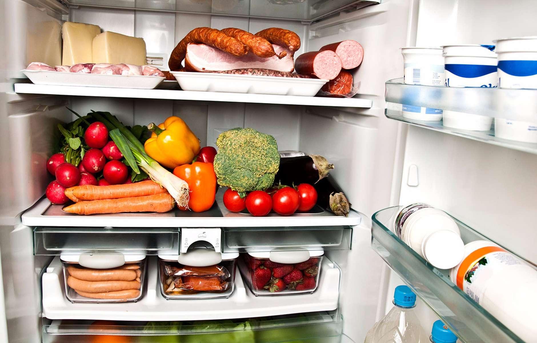 папку, холодильник фото с продуктами нарисовано
