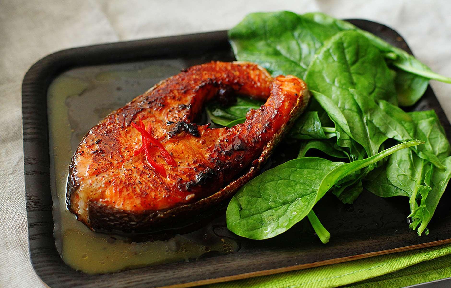 жареная семга рецепт с фото