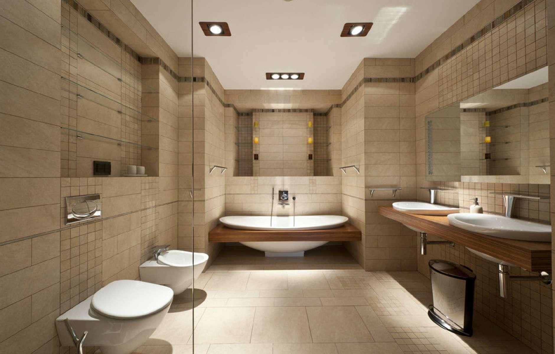 Ванная комната с санузлом в картинках