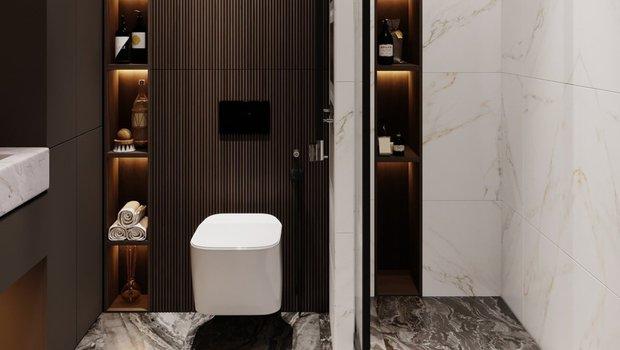 5 новейших функциональных решений для ванной комнаты