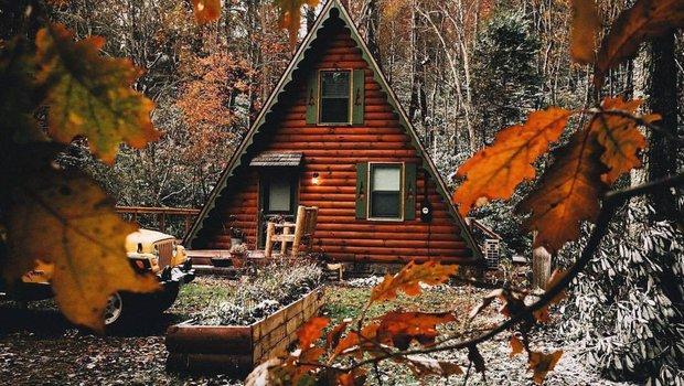 Настроение — ноябрь: 25+ самых уютных домиков